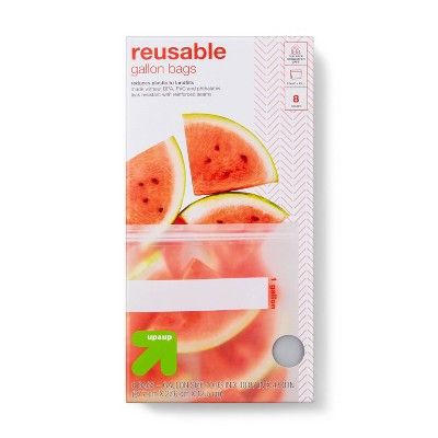 Reusable Bag - Gallon Freezer - 8pk - up & up™