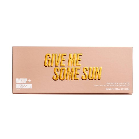 Makeup Obsession Give Me Some Sun Bronzer Blush Palette - 0.36oz - image 1 of 3
