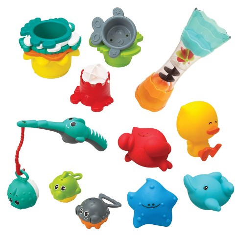 Infantino Splish and Splash Bath Play Set - image 1 of 4
