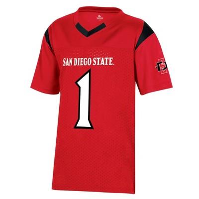 NCAA San Diego State Aztecs Boys' Short Sleeve Jersey