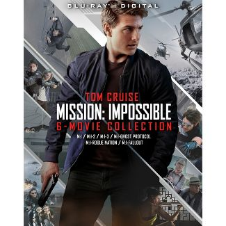 Mission: Impossible 6-Movie Collection (Blu-ray)