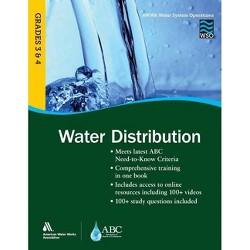 Wso Water Distribution, Grades 3 & 4 - by  Awwa (Paperback)