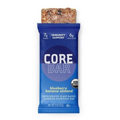 CORE Organic Refrigerated Oat Bar Blueberry Banana Almond - 2oz