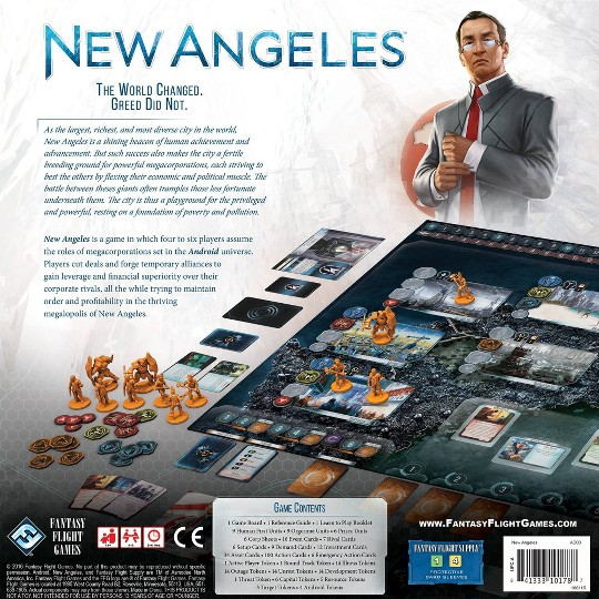 Fantasy Flight Games Android: New Angeles Board Game image number null