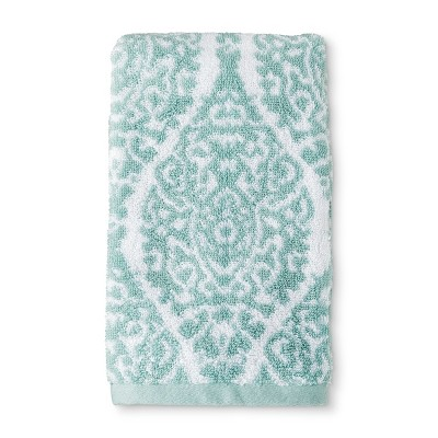 Performance Texture Hand Towel White/Surf - Threshold™
