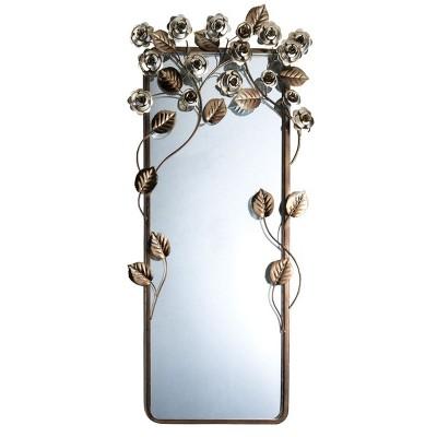 OK Lighting Allure Wall Plaque Mirror