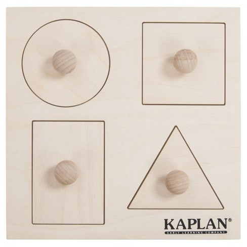 Kaplan Early Learning Peek A Boo Knob Puzzle - image 1 of 4