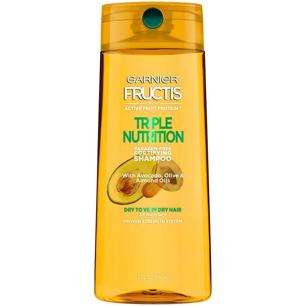 Garnier Fructis Triple Nutrition Shampoo 22 Fl Oz