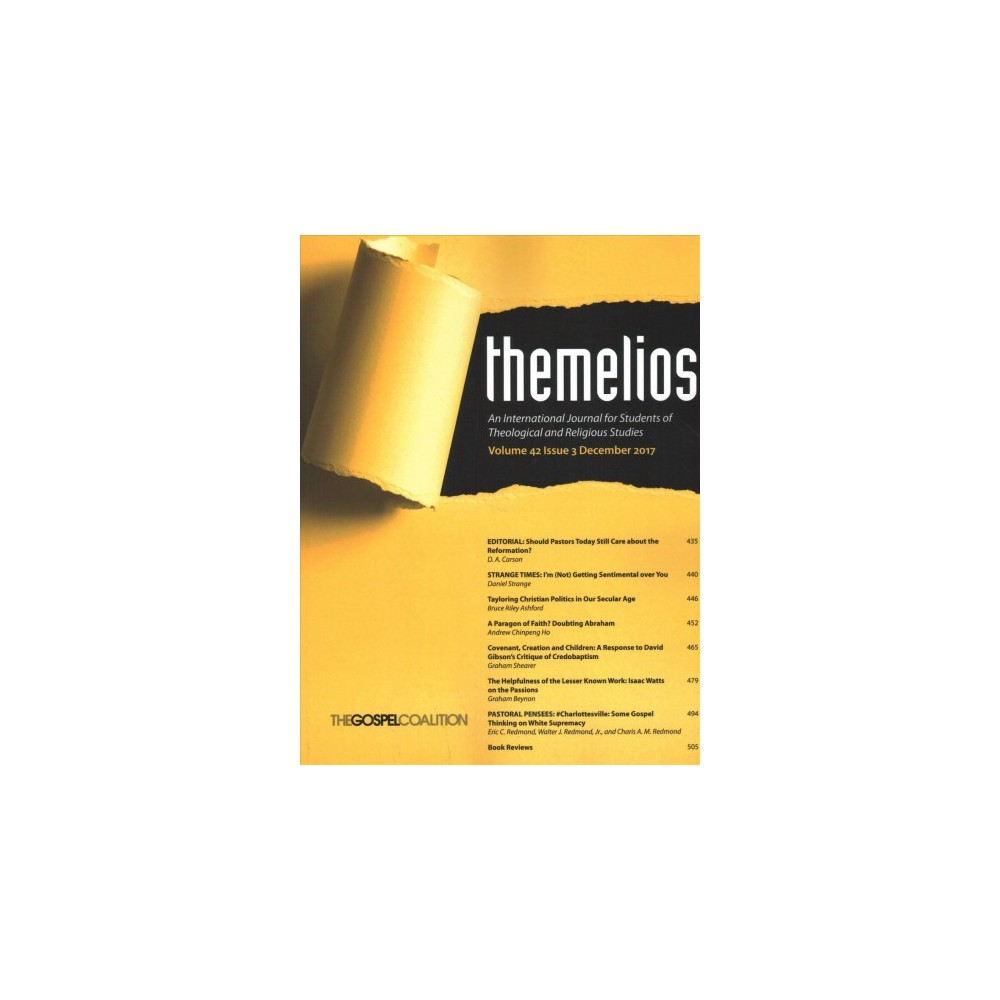 Themelios : An International Journal for Students of Theological and Religious Studies - (Paperback)