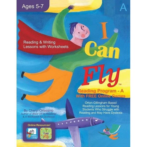 I Can Fly - Reading Program - A, With FREE Online Games - by  Cheryl Orlassino (Paperback) - image 1 of 1