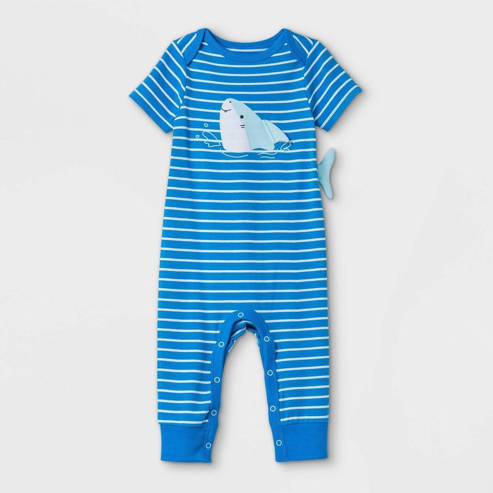 Baby Boys 39 Shark Romper Cat 38 Jack 8482 Captains Blue 0 3m