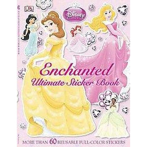 Disney Princess Enchanted Ultimate Sticker Book (Paperback) by Jo Casey - image 1 of 1