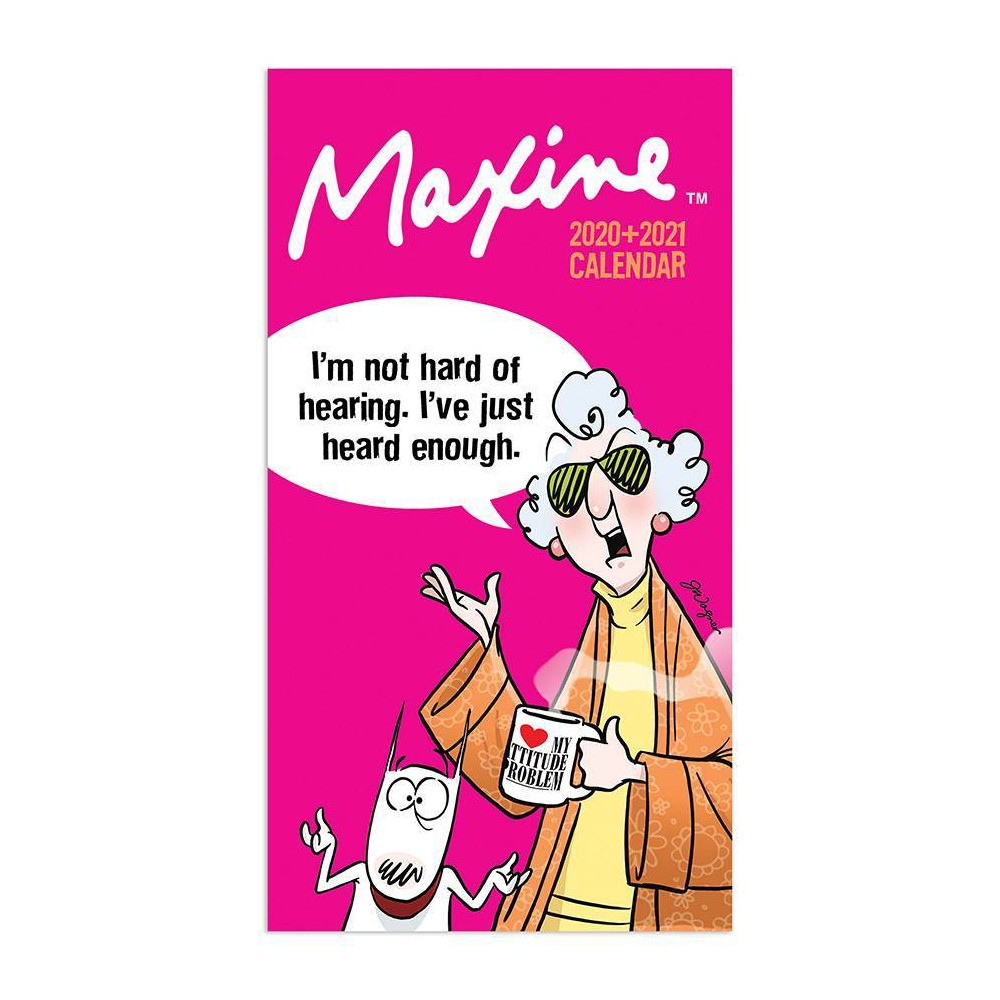 """Image of """"2020-21 2yr Planner 6.5"""""""" x 3.5"""""""" Maxine"""""""