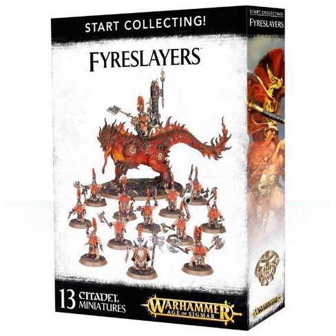 Age of Sigmar Start Collecting! - Fyreslayers Miniatures Box Set - image 1 of 3