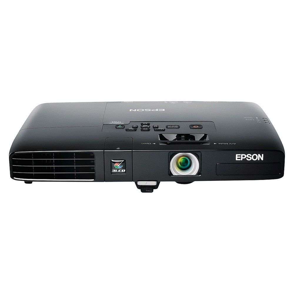 Epson PowerLite 1751 Xga 3LCD Ultra Portable Projector, Black The Epson PowerLite 1751 Xga 3LCD Ultra Portable Projector lets you take your work anywhere you need. This Epson multimedia projector gives you a professional presentation. Color: Black.