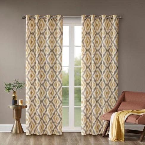 Ankara Cotton Printed Curtain Panels - image 1 of 4