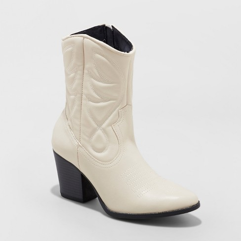 Women's Clayton Western Cowboy Booties - Wild Fable™ - image 1 of 10