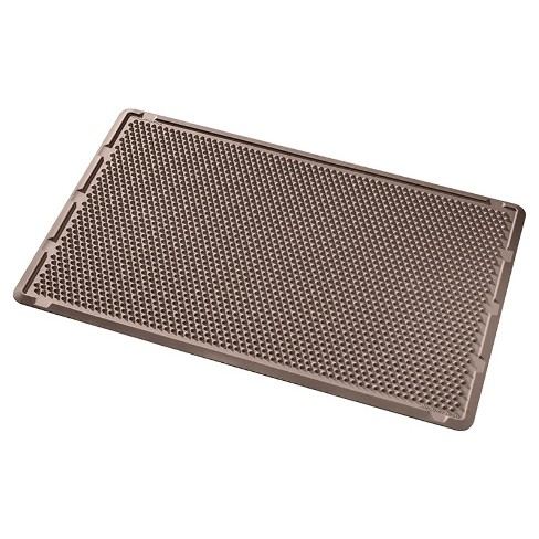 "Brown Solid Doormat - (2'6""x4') - WeatherTech - image 1 of 2"