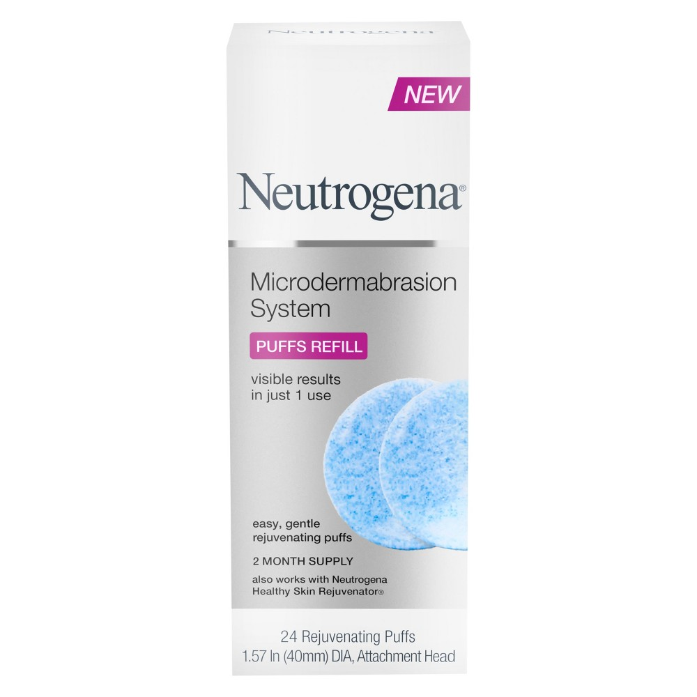 Image of Neutrogena At-Home Microdermabrasion Exfoliating Puff Refills - 24ct
