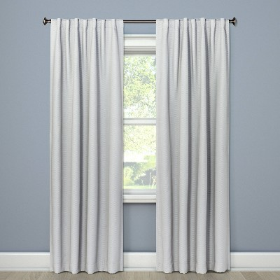 Small Check Curtain Panels - Threshold™