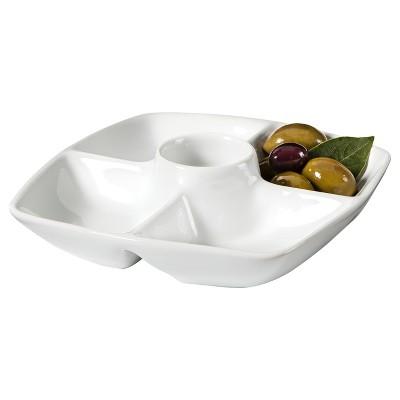 Threshold™ Olive Tray - White