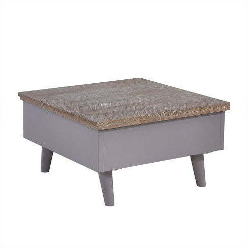 Oma Convertible Storage Coffee To Dining Table Brown - Aiden Lane - image 1 of 4