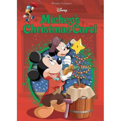 Disney Mickey's Christmas Carol - (Disney Die-Cut Classics) (Hardcover)