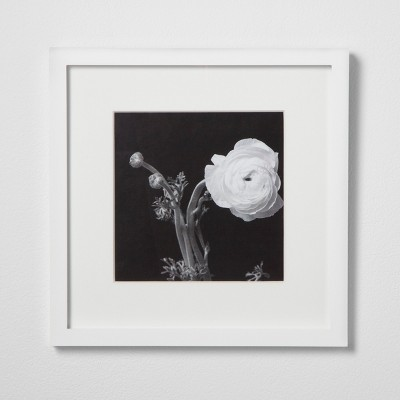 Single Image Matted Frame White 8 x8  - Made By Design™