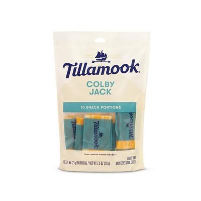 Tillamook Colby Jack Cheese Snacks - 7.5oz/10ct
