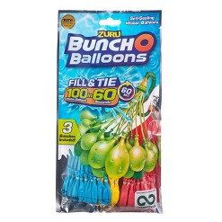 Bunch O Balloons Blue Yellow Red