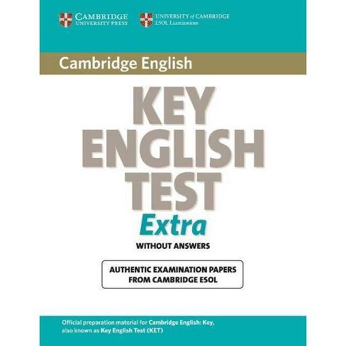 Cambridge Key English Test Extra Student's Book - (Ket