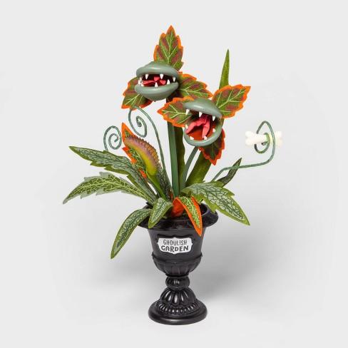 "18"" Medium Faux Creepy Ghoulish Garden Halloween Black Planter - Hyde & EEK! Boutique™ - image 1 of 1"