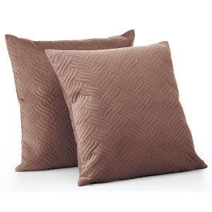 Mdesign Decorative Faux Linen Pillow Case Cover 20 X 20 Inches 2 Pack Target