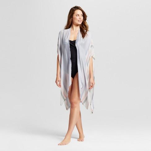 Women's Kimono Jacket - Merona™ Blue One size - image 1 of 2