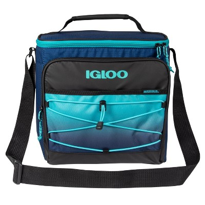Igloo Hard Liner Cooler 12 Can - Ombre Aquamarine/Navy