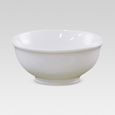 Porcelain Footed Dip Bowl 6oz White - Threshold™