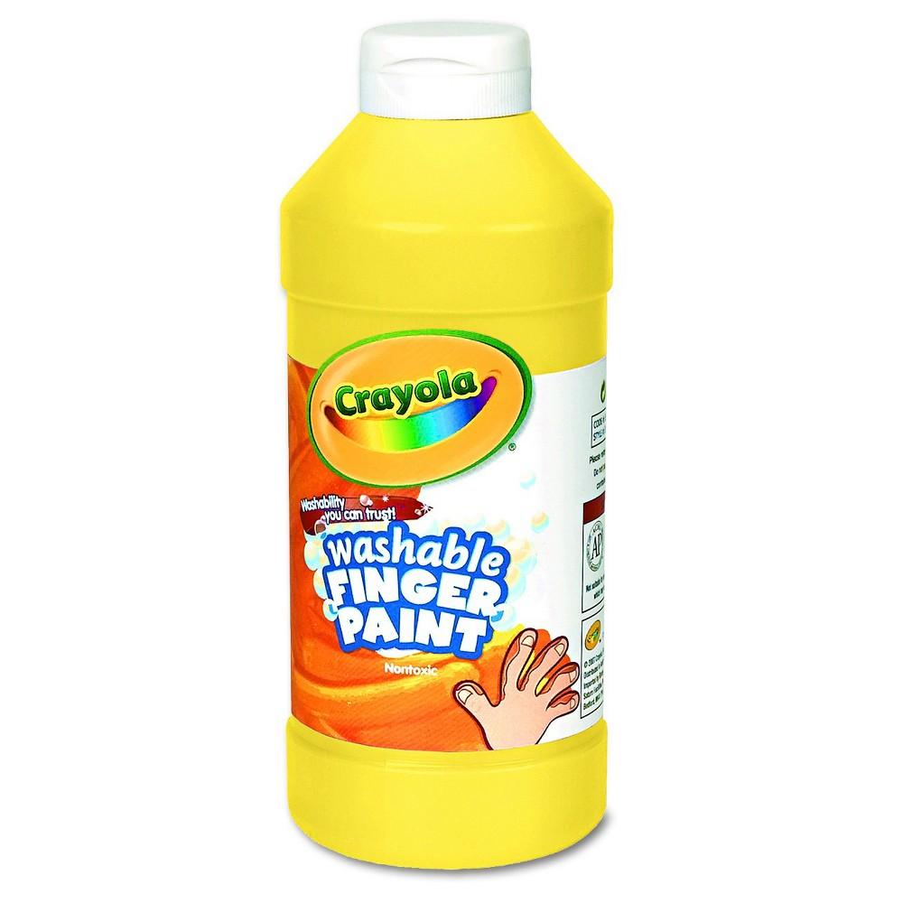 Crayola 16oz Washable Fingerpaint Yellow