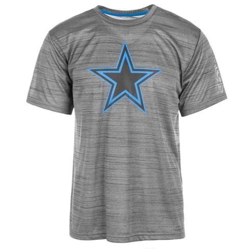 e9fe0c698 NFL Dallas Cowboys Men s Eros Charcoal Performance T-Shirt   Target
