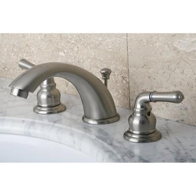 Widespread Bathroom Faucet Satin Nickel - Kingston Brass, Satin Nickle