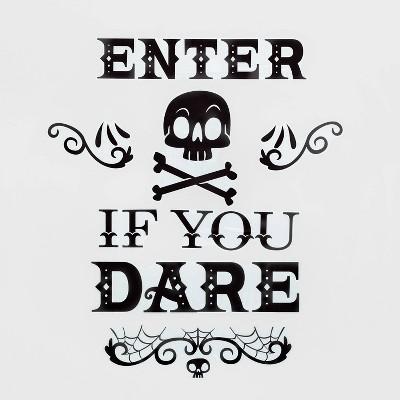 "Enter if You Dare Halloween Wall Art (27.75""x9.75"") - Hyde & EEK! Boutique™"