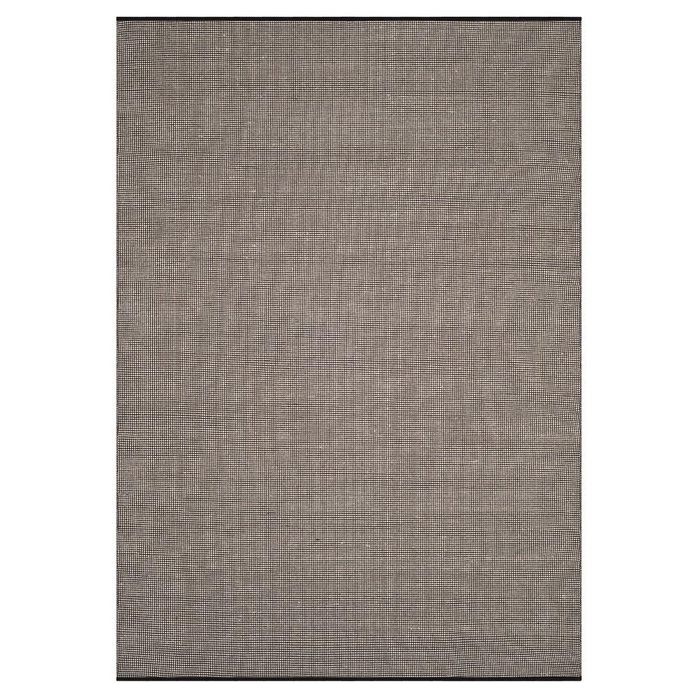 Ivory/Black Stripe Flatweave Woven Area Rug - (4'X6') - Safavieh