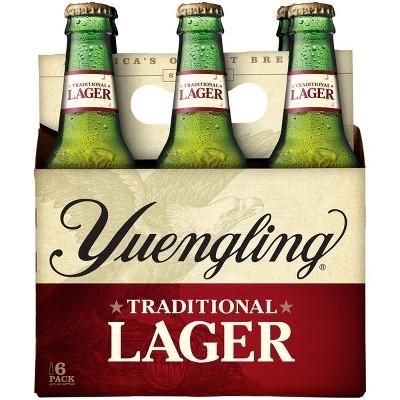 Yuengling Traditional Lager Beer - 6pk/12 fl oz Bottles