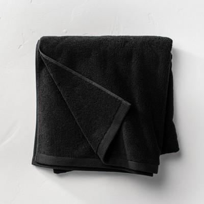 Organic Bath Sheet Black - Casaluna™