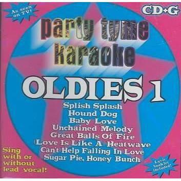 Party Tyme Karaoke - Party Tyme Karaoke - Oldies 1 (8+8-song CD+G)