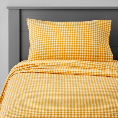 Gingham Cotton Sheet Set - Pillowfort™
