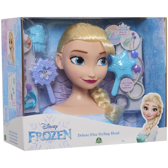 Disney Princess Elsa Deluxe Styling Head image number null