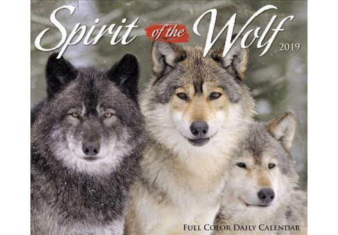 Spirit of the Wolf 2019 Calendar -  (Paperback) - image 1 of 1