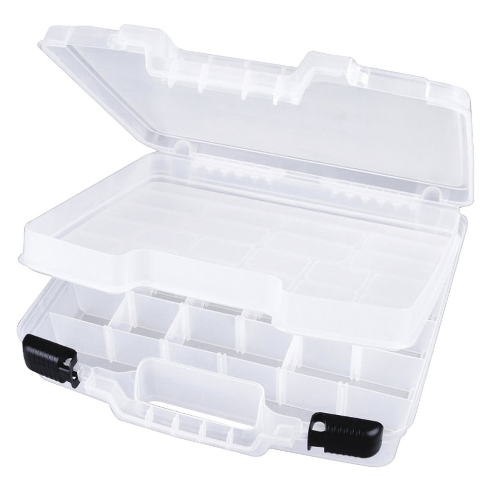 Image of Scrapbooking Tool Organizer White Art Bin