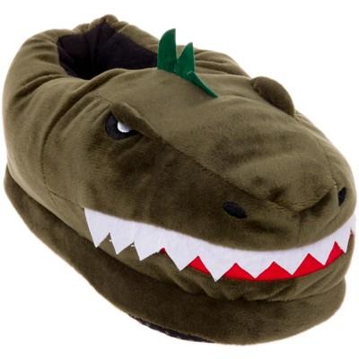 FUNZIEZ! - Men's Dinosaur Animal Slippers