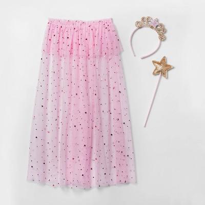 Toddler Girls' 3pc Princess Costume Dress-Up Set - Cat & Jack™ Pink